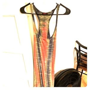 T Party size Small tie dye style dress